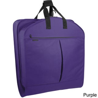 WallyBags 40-inch Garment Bag with Pockets