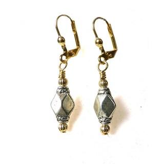 Michelle' Metal Dangle Earrings