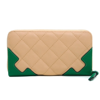 Anais Gvani Women's Quilted Two-Tone Wallet