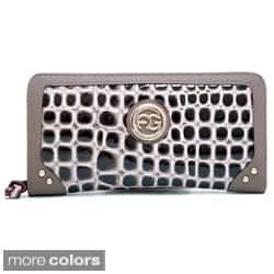 Anais Gvani Women's Reptile Skin Pattern Wristlet Wallet|https://ak1.ostkcdn.com/images/products/7559402/Anais-Gvani-Womens-Reptile-Skin-Pattern-Wristlet-Wallet-P14990723c.jpg?impolicy=medium