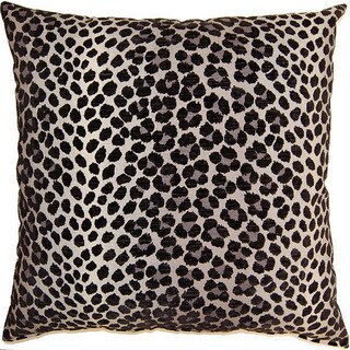 Panther Ebony 17-inch Throw Pillows (Set of 2)