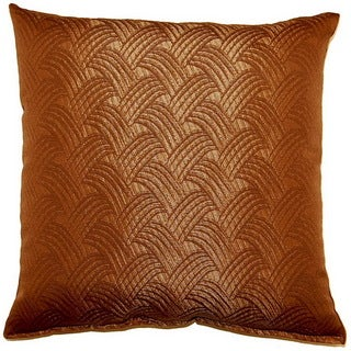 Brush Off Brown 17-inch Throw Pillows (Set of 2)