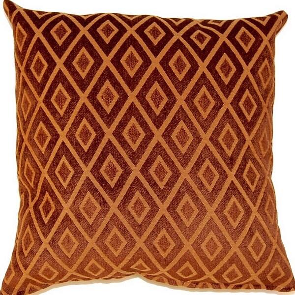 Kaya Pumpkin 17-inch Throw Pillows (Set of 2)