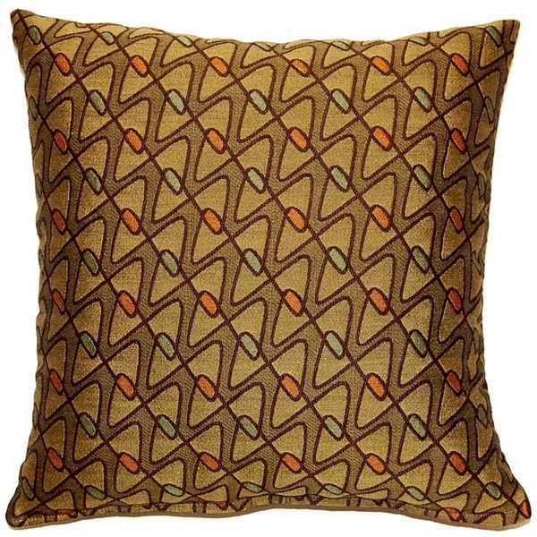 Mini Bowtie Forest 17-inch Throw Pillows (Set of 2)