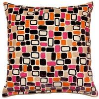 Moonstone Plum 17-inch Throw Pillows (Set of 2)