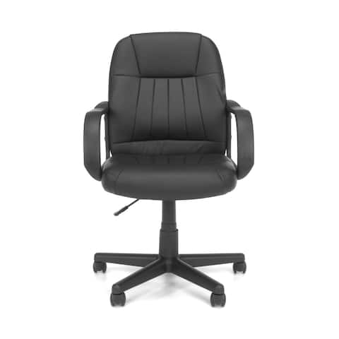 OFM Essentials Collection Executive Office Chair, in Black (E1007)