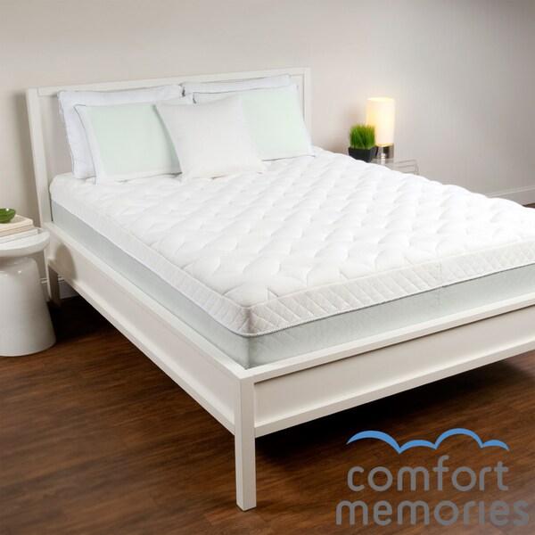 Comfort Memories Quiltflex 14-inch King/ Cal King Memory Foam Mattress