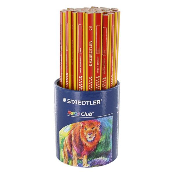 Staedtler Noris Club Multi-Color Woodcase Pencils (Pack of 50)