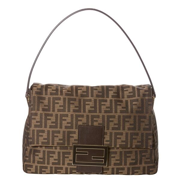 Fendi Zucca Borsa Mamma Shoulder Bag