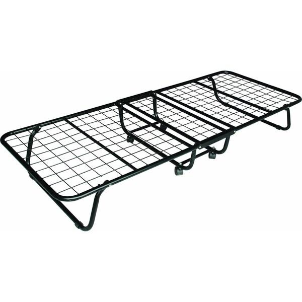 K&B 812A Black Folding Metal Bed