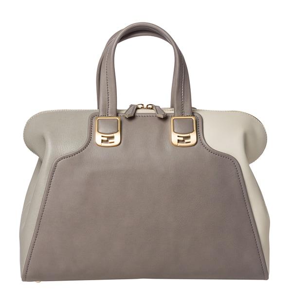 Fendi Two-Toned Chameleon Satchel Bag