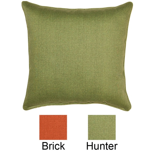 Shop Husk Texture 26 Inch Outdoor Pillow Free Shipping Today