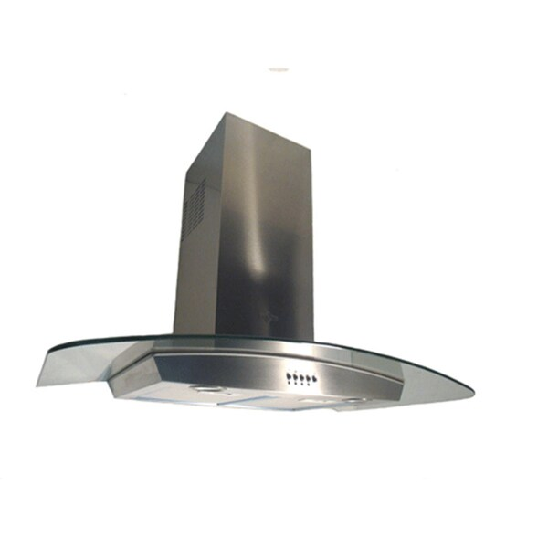NT Air Italy 36-inch Stainless Steel Wall Mount Range Hood