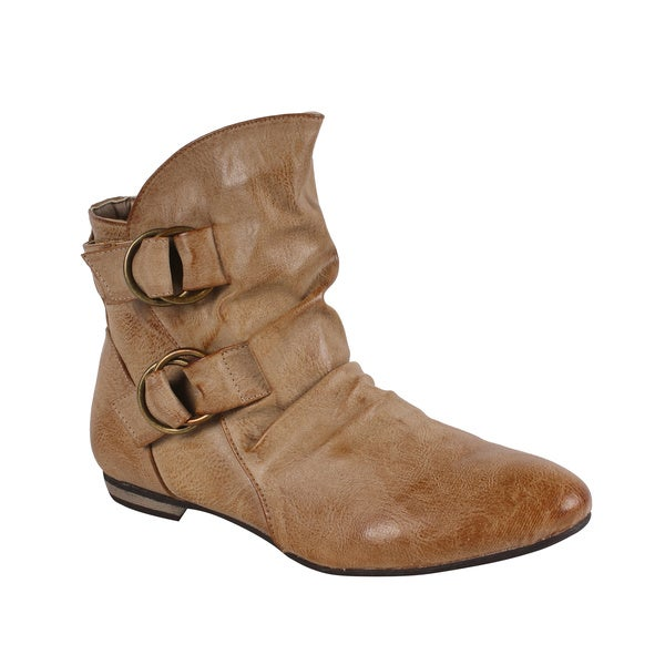 Liliana by Beston Women's 'Bari' Ankle Booties