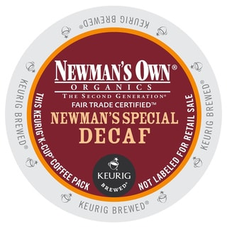 Newman's Own Special Decaf Coffee K-Cups for Keurig Brewers