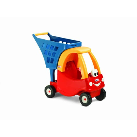 Little Tikes Cozy Coupe Shopping Cart - Yellow/Red