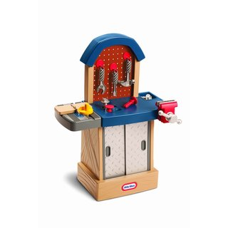 Little Tikes Tikes Tough Multicolored Plastic Workshop