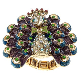 Betsey Johnson Peacock Fashion Ring