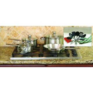 Stainless Steel Cookware and Tool Set