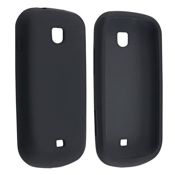 BasAcc Black Silicone Case for Samsung Galaxy Stellar i200