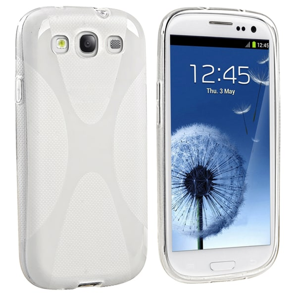 BasAcc Clear x Shape Case for Samsung© Galaxy S III/ S3