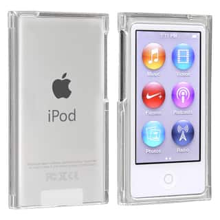 INSTEN Clear Snap-on Slim iPod Case Cover for Apple iPod Nano 7th Generation|https://ak1.ostkcdn.com/images/products/7560220/7560220/BasAcc-Clear-Snap-on-Slim-Case-for-Apple-iPod-Nano-7th-Generation-P14991367.jpeg?impolicy=medium