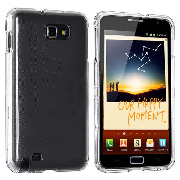 INSTEN Clear Snap-on Crystal Phone Case Cover for Samsung Galaxy Note N7000/ I717