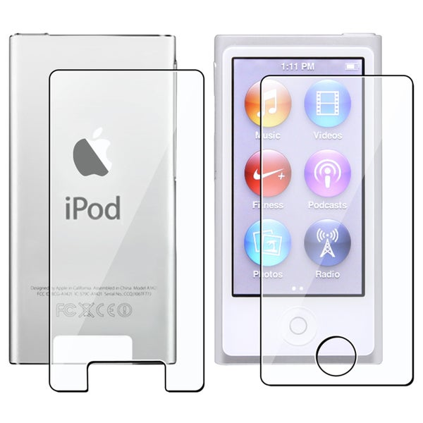 INSTEN 2-LCD Screen Protector for Apple iPod Nano 7th Generation