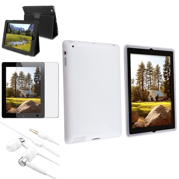 BasAcc Case/ Screen Protector/ Headset for Apple® iPad 2