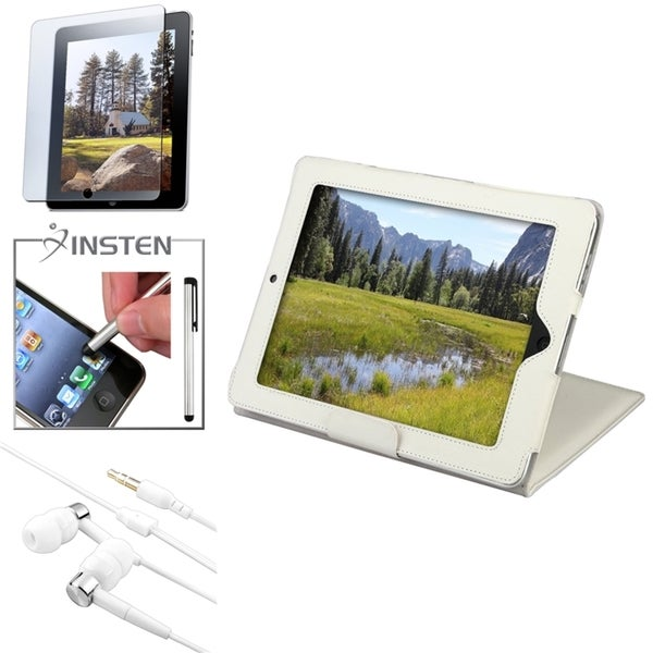BasAcc Case/ Screen Protector/ Headset/ Stylus for Apple® iPad 2