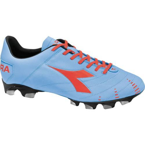 Men's Diadora Evoluzione K BX 14 Powder Blue/Red