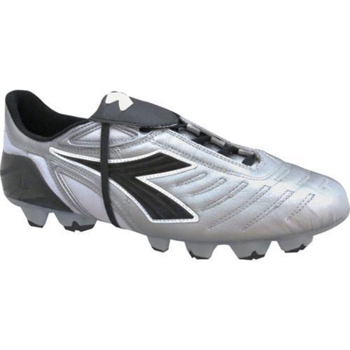 Shop Men s Diadora Maracana RTX 12 Silver Black - Free Shipping ... 9c18dcc23d9