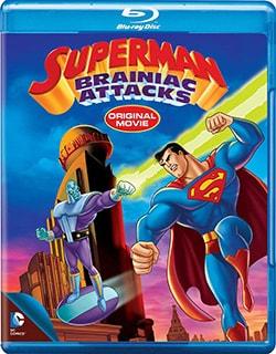 Superman: Brainiac Attacks (Blu-ray Disc)
