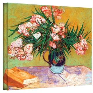 Vincent van Gogh 'Oleander' Wrapped Canvas Art