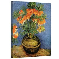 Vincent van Gogh 'Fritillaries' Wrapped Canvas Art