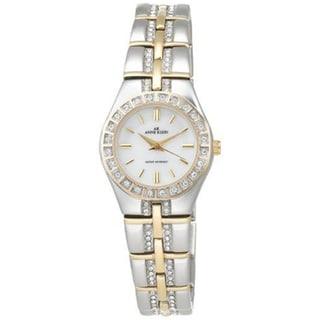 Anne Klein Women's Silver Two-tone Steel Watch