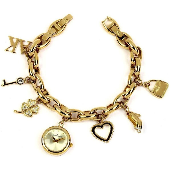 Anne Klein Women's Gold Stainless Steel Watch