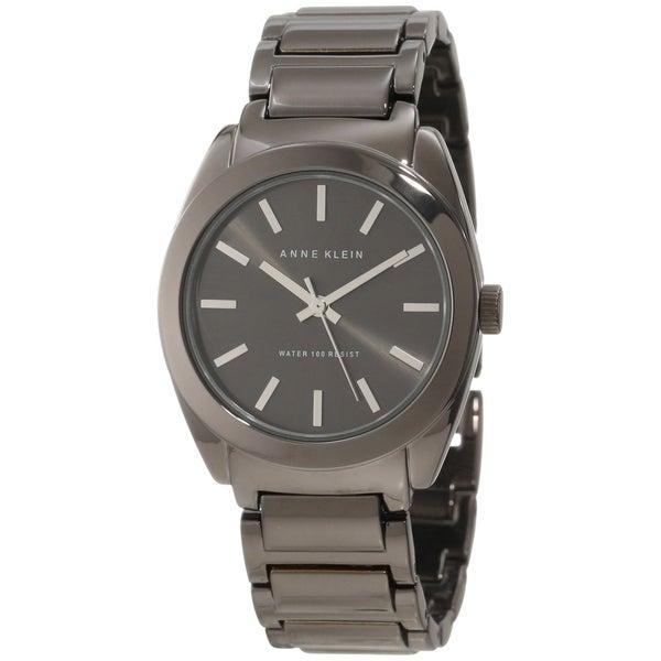 Anne Klein Women's Grey Stainless Steel Watch