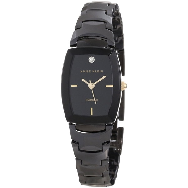 Anne Klein Women's Black Ceramic Watch