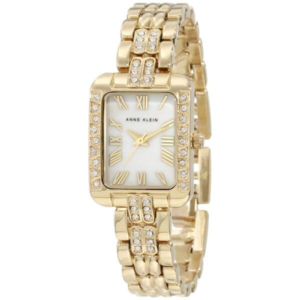 Anne Klein Women's Goldtone Stainless Steel Watch