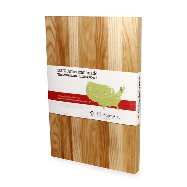 J.K. Adams American Ash Large Cutting Boards (Set of 2)