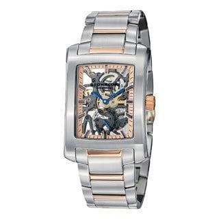 Stuhrling Original Midtown Banker Elite Mechanical Stainless Steel Bracelet Watch