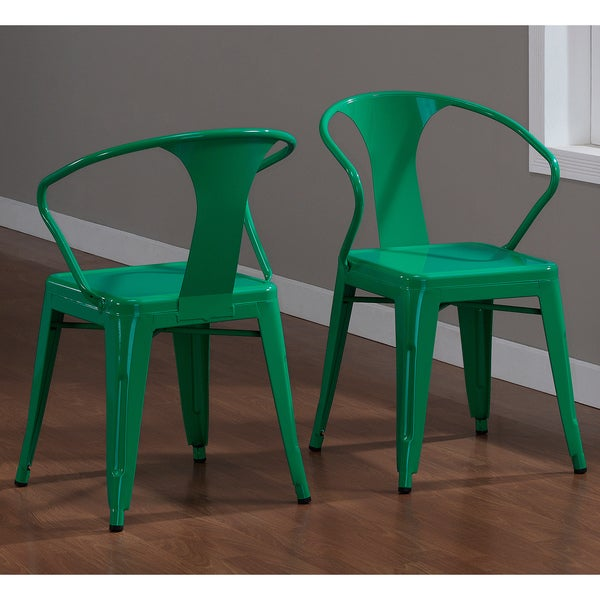 Emerald Stacking Chairs (Set of 4)