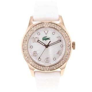 Lacoste Women's Advantage Rose Gold Watch