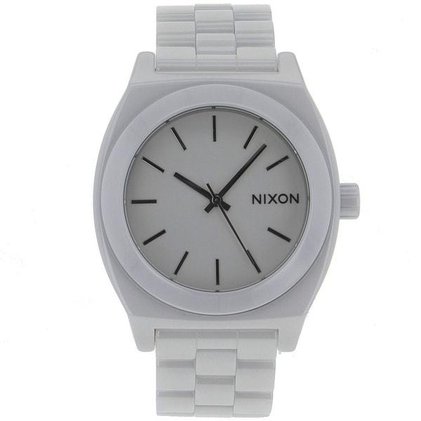 Nixon Women's White Ceramic Watch