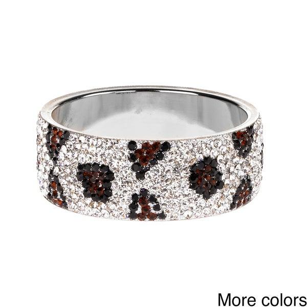 Saachi Brass Crystal Print Bracelet (India)