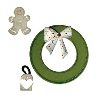 Sizzix Wreath and Gingerbread Man Die Cuts