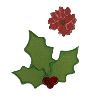 Sizzix Bigz Holly and Poinsettia Die