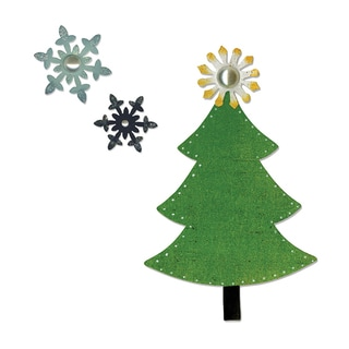 Sizzix Bigz Tree and Snowflakes Die