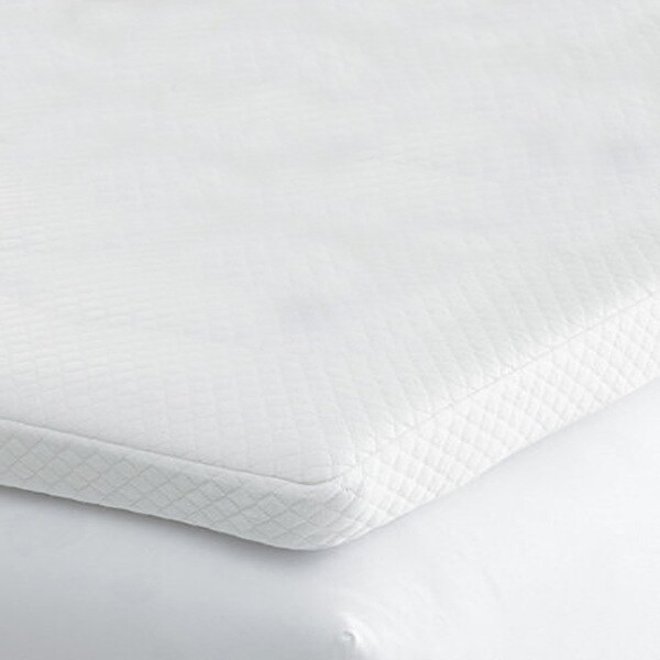 Comforpedic Beautyrest 2 In Gel Memory Foam Mattress Topper Comfort Cooling RV 3-inch Fiber Bed Mattress Topper - Free ...